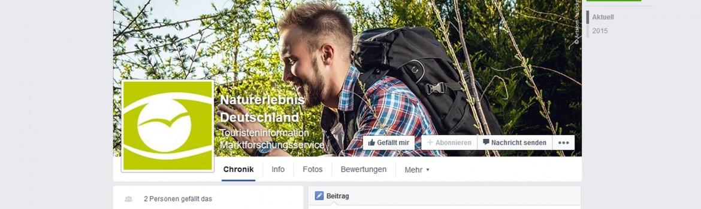 Bild der Facebookseite Naturerlebnis Deutschland