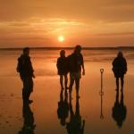 Wattwanderung an der Nordsee