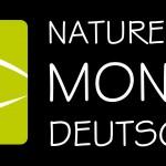 Logo Naturerlebnis-Monitor Deutschland auf schwarzem Untergrund
